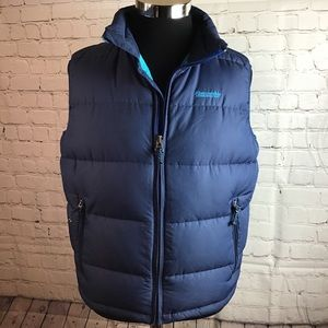Abercrombie & Fitch men's down filled puffer vest